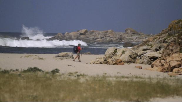 En Galice, le pèlerin rencontre la mer.